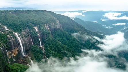 All About Nohkalikai Falls